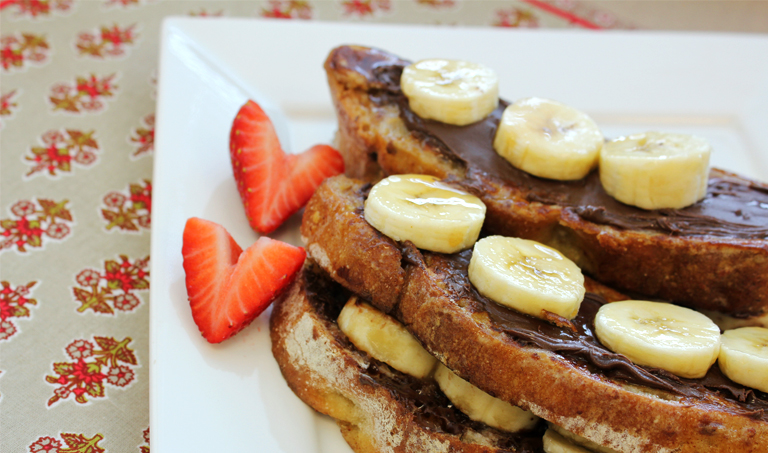 Cocoa Almond and Banana Stuffed French Toast ala TJ's – Ecopelle ...